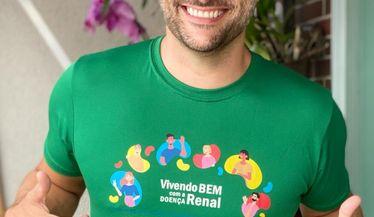 Leandro Luna apoia a campanha do Dia Mundial do Rim