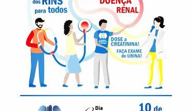DMR 2022 - Saúde dos rins para todos: Educando sobre a Doença Renal