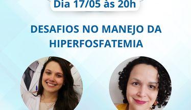 """Live Comitê Jovens Nefrologistas sobre os """"Desafios no Manejo da Hiperfosfatemia"""""""