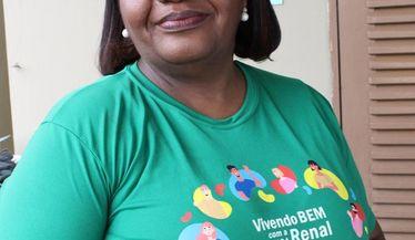Mônica Calazans, primeira brasileira vacinada contra a Covid-19 apoia a campanha do Dia Mundial do Rim